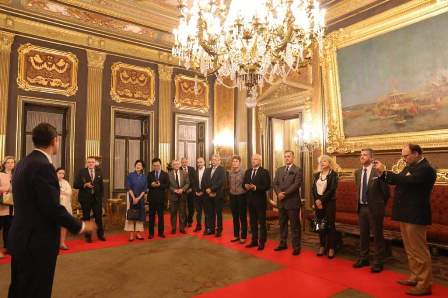 Egypt Within The Framework Of Countrys Policy To Highlight Its Historical Sites And Landmarks Organized Visit On 29th March 2019 Abdeen Palace In